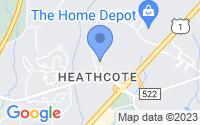 Map of South Brunswick Township NJ