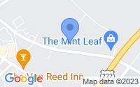 Map of Leesport PA