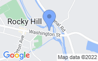 Map of Rocky Hill NJ
