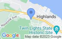 Map of Atlantic Highlands NJ