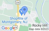 Map of Rocky Hill NJ