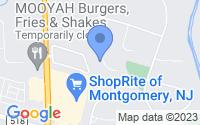 Map of Montgomery NJ
