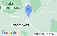 Map of East Amwell Township NJ