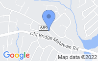 Map of Matawan NJ