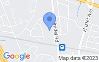 Map of Hazlet NJ