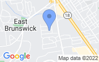 Map of East Brunswick NJ