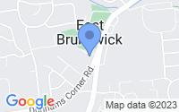 Map of East Brunswick NJ
