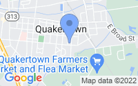 Map of Quakertown PA