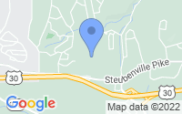 Map of Imperial PA
