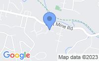 Map of Oakdale PA