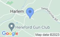 Map of Barto PA