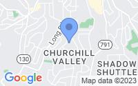 Map of Penn Hills PA