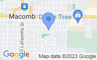 Map of Macomb IL