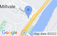 Map of Millvale PA