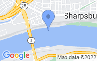 Map of Sharpsburg PA