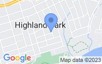 Map of Highland Park NJ
