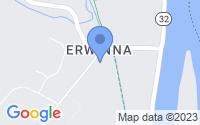 Map of Tinicum Township PA