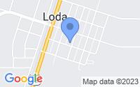 Map of Loda IL