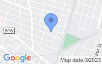 Map of Perth Amboy NJ