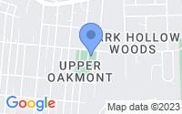 Map of Oakmont PA