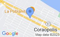 Map of Coraopolis PA