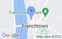 Map of Frenchtown NJ