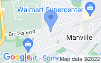 Map of Manville NJ