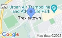 Map of Trexlertown PA