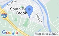 Map of South Bound Brook NJ