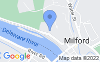 Map of Milford NJ
