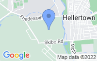 Map of Hellertown PA