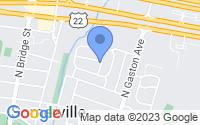 Map of Somerville NJ
