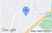 Map of Woodbridge Township NJ
