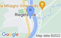 Map of Riegelsville PA
