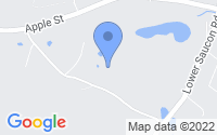 Map of Hellertown PA