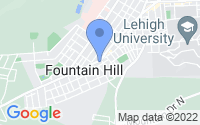 Map of Fountain Hill PA