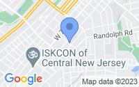 Map of Plainfield NJ