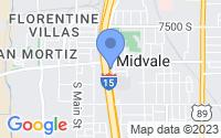 Map of Midvale UT