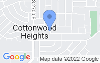 Map of Cottonwood Heights UT