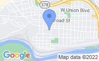 Map of Bethlehem PA