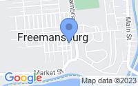 Map of Freemansburg PA