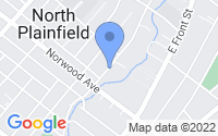 Map of North Plainfield NJ