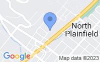 Map of North Plainfield NJ