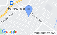 Map of Fanwood NJ