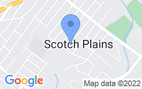 Map of Scotch Plains NJ