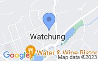 Map of Watchung NJ