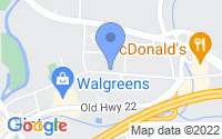 Map of Clinton NJ