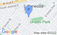 Map of Garwood NJ