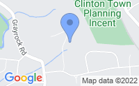 Map of Clinton NJ