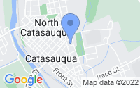 Map of Catasauqua PA